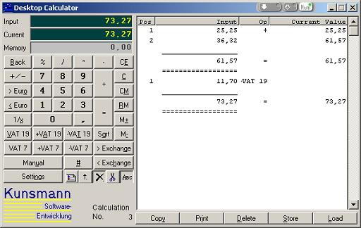Click to view PC Printing Calculator screenshots